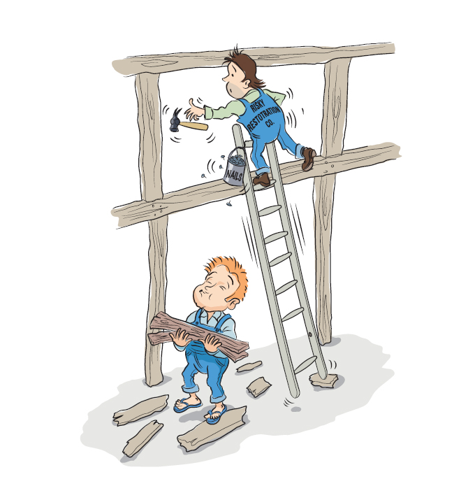 Construction Manager Cartoon : Cdm kay pilsbury thomas architects